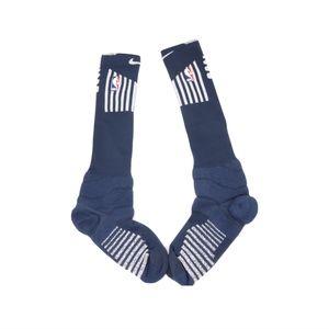 New 2XL Nike Detroit Pistons Team Issue Socks Blue